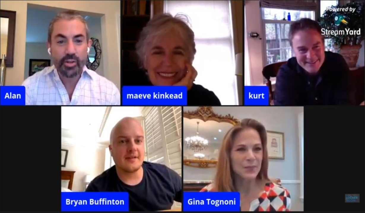 Guiding Light live stream with Maeve Kinkead Kurt McKinney Gina Tognoni Bryan Buffington