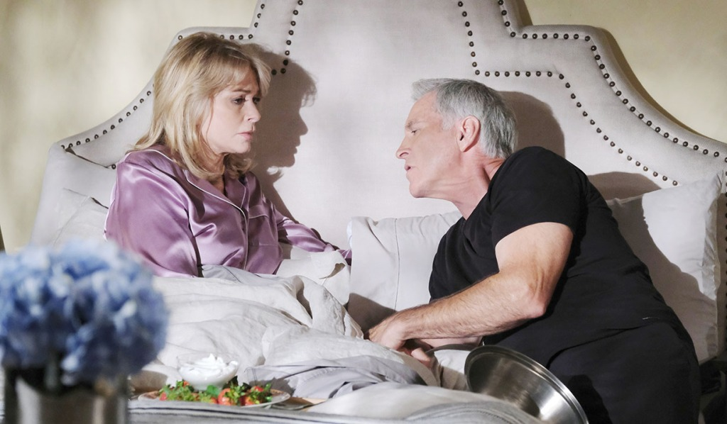 jarlena in bed talk orpheus days of our lives