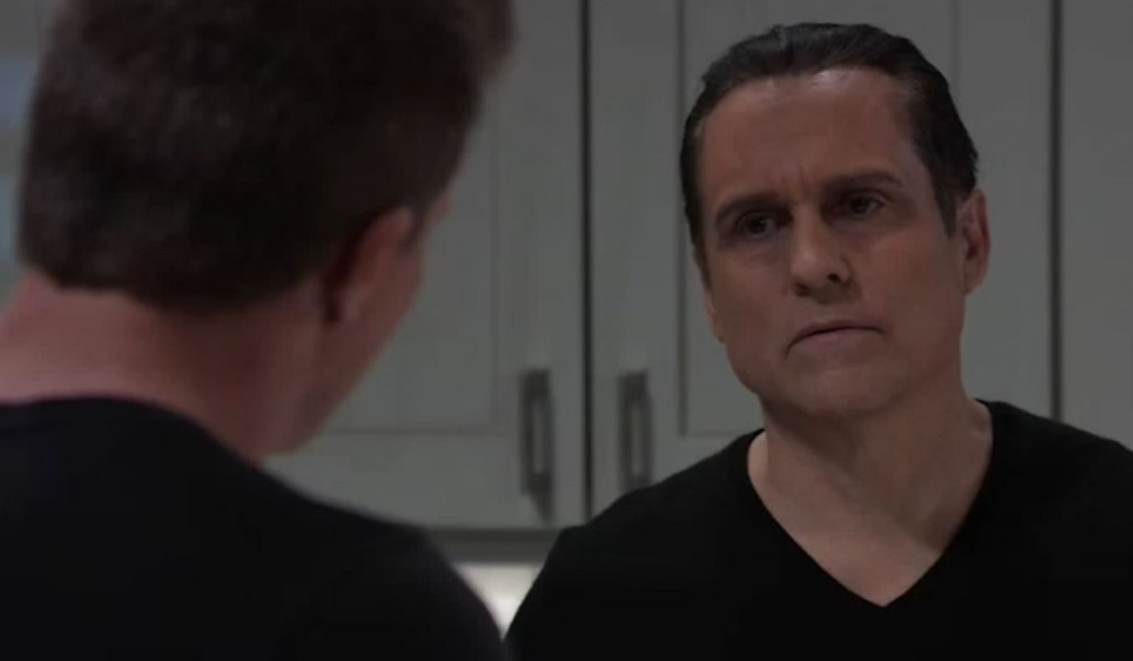 Jason and Sonny discuss Cyrus on General Hospital