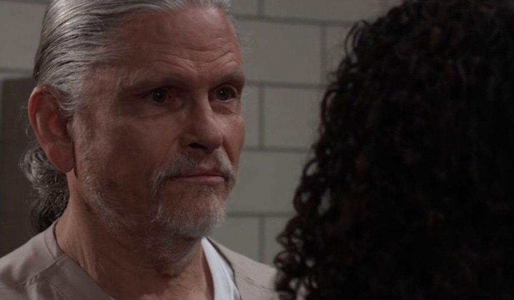 Jordan confronts Cyrus about TJ on General Hospital