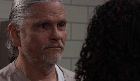 Jordan confronts Cyrus about TJ on General Hospital