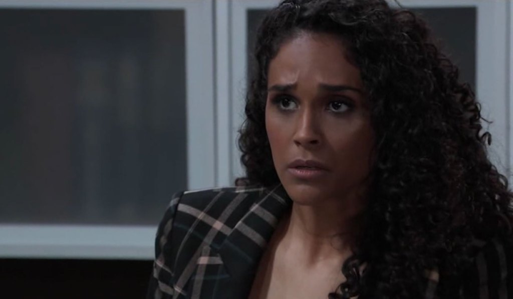 Jordan worries she's going to get busted on General Hospital