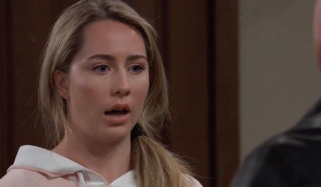 Joss asks Jason for a favor on General Hospital