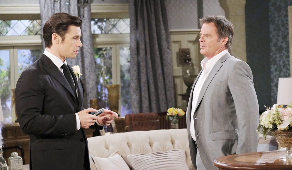 justin overhears Xander days of our lives