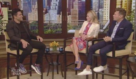 Kelly Ripa and Mark Consuelos on LIVE with Kelly and Ryan