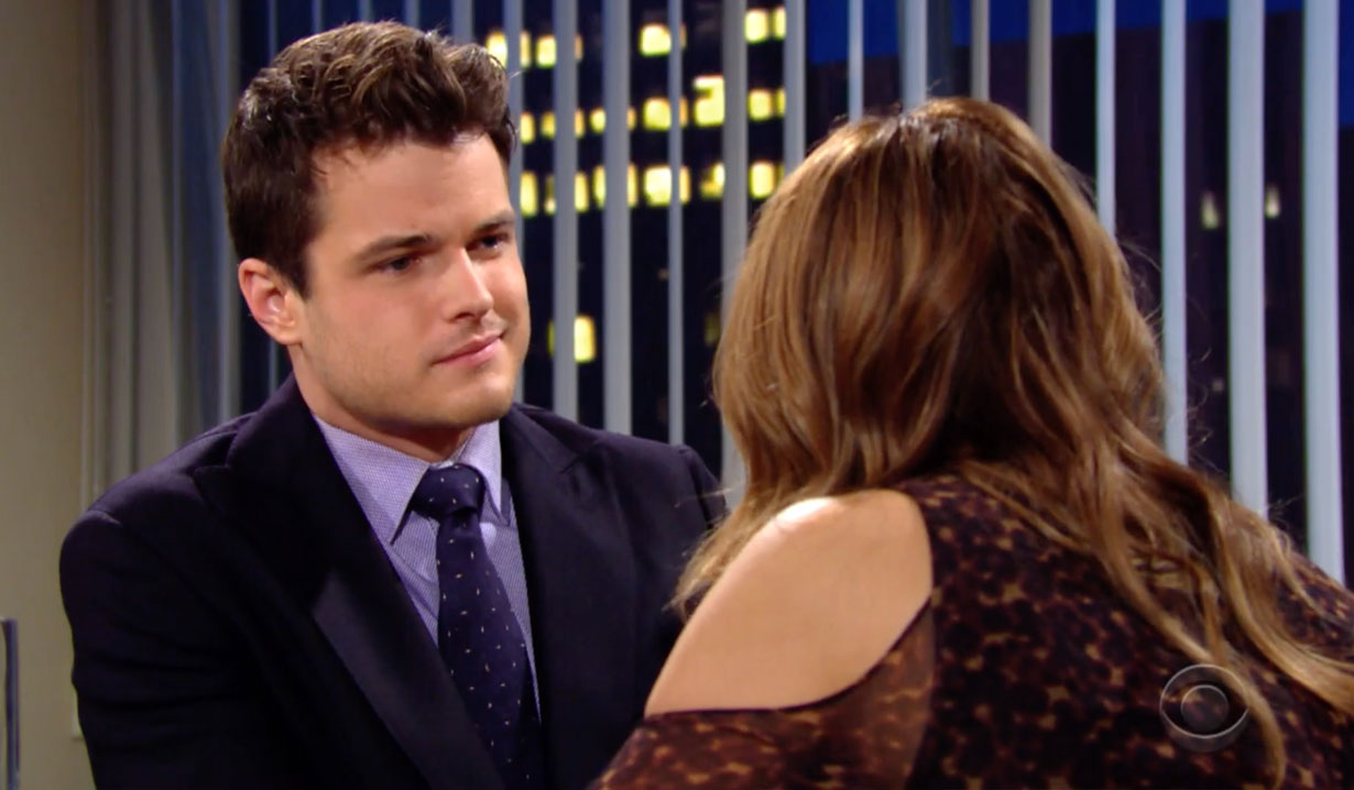 Kyle and Summer catch Theo cheating on Young and the Restless
