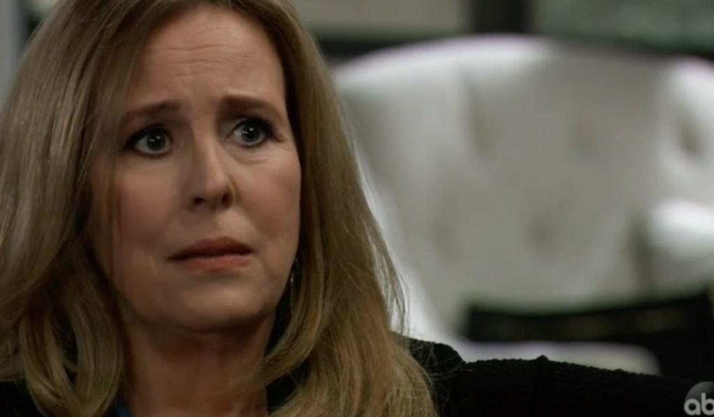 Laura tells Lulu about Valentin on General Hospital