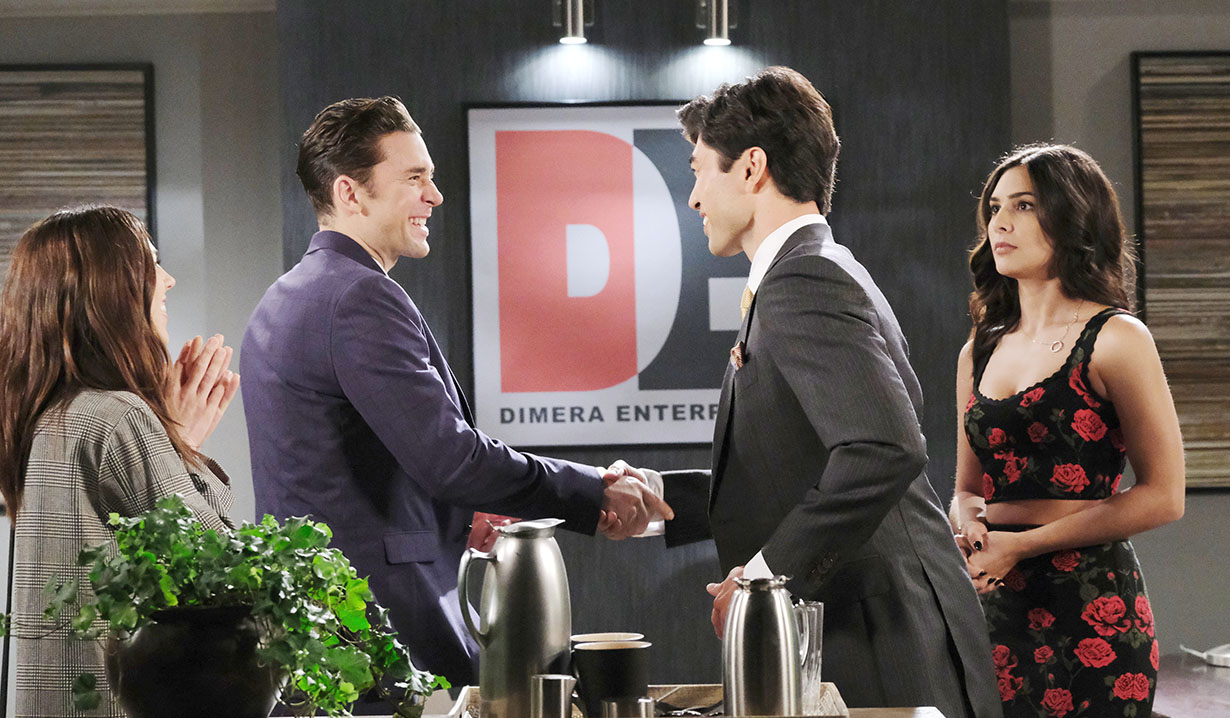 li meets chad and gabi days of our lives