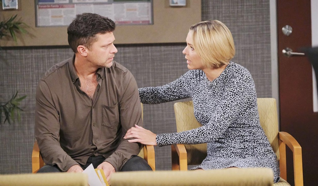 nic comfort eric grieving days of our lives