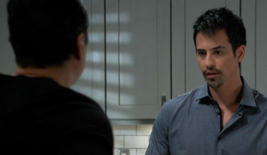 Nikolas apologizes to Sonny on General Hospital