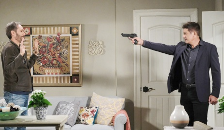 Rafe holds gun on Orpheus days of our lives