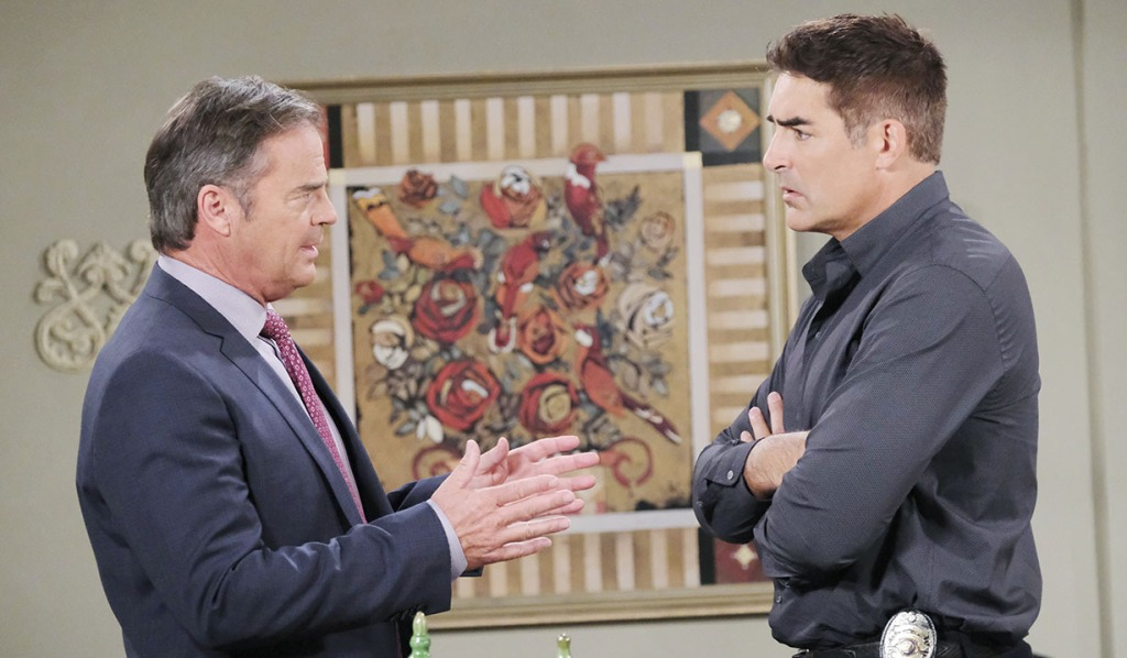 rafe and justin talk orpehus days of our lives