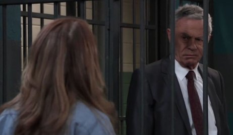 Robert visits Obrecht in jail on General Hospital