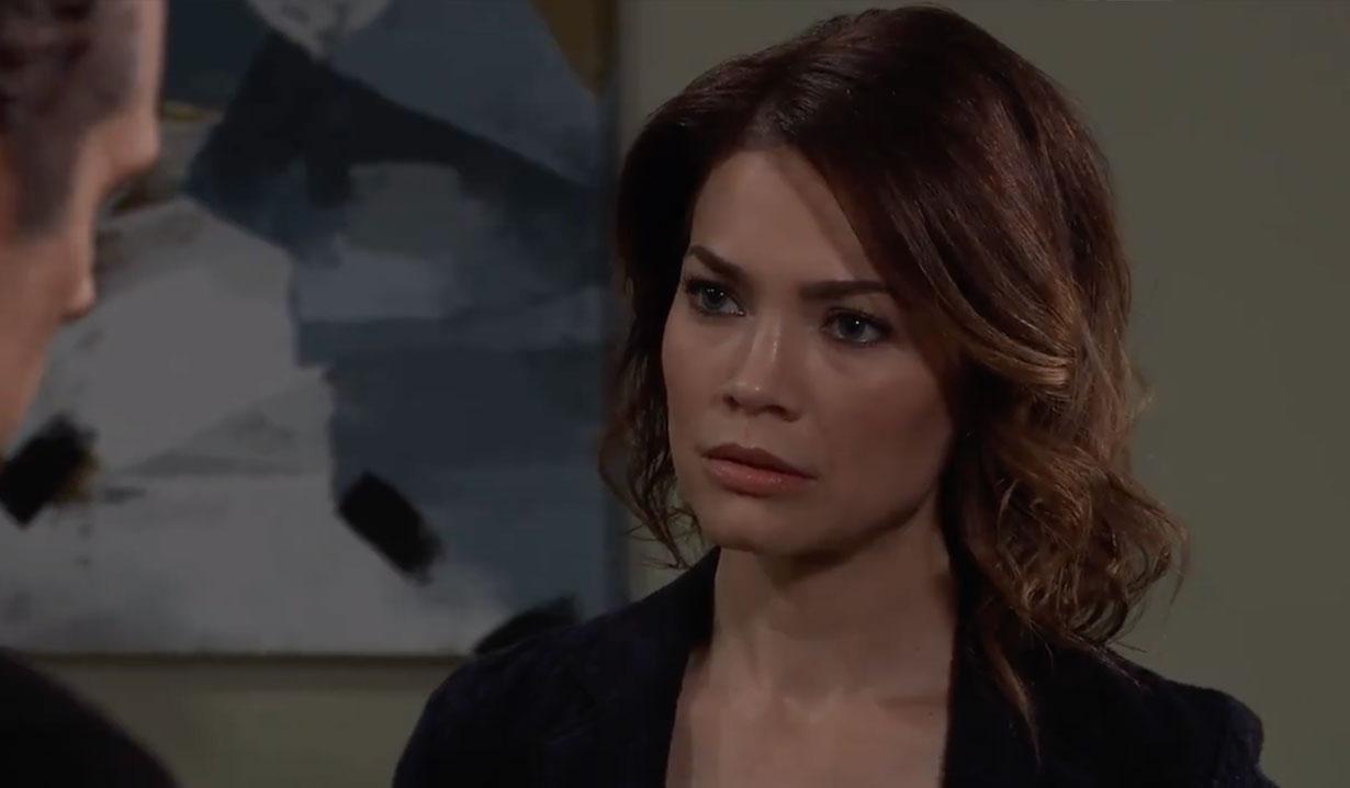 Liz tells Sonny Mike needs a DNR on General Hospital
