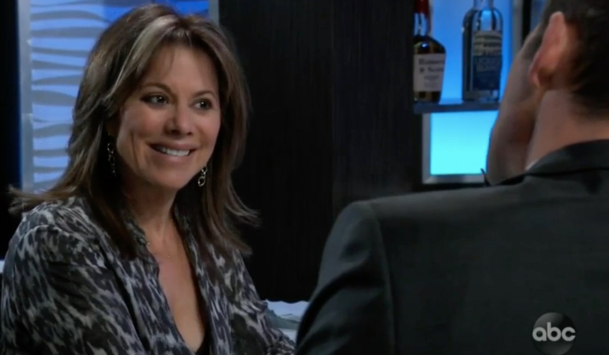 Alexis is shocked by Valentin on General Hospital