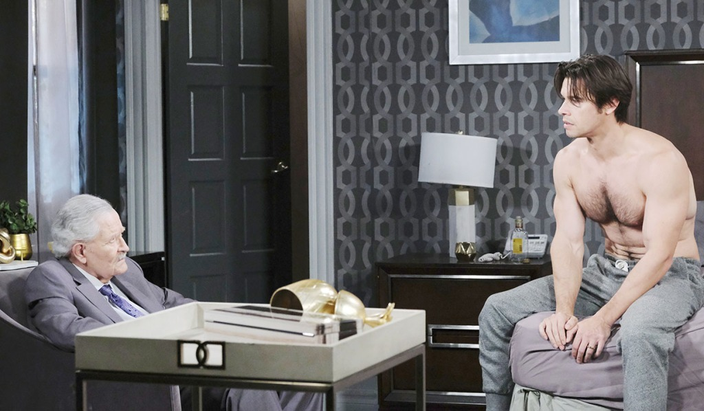 vic visit xander sleeping days of our lives