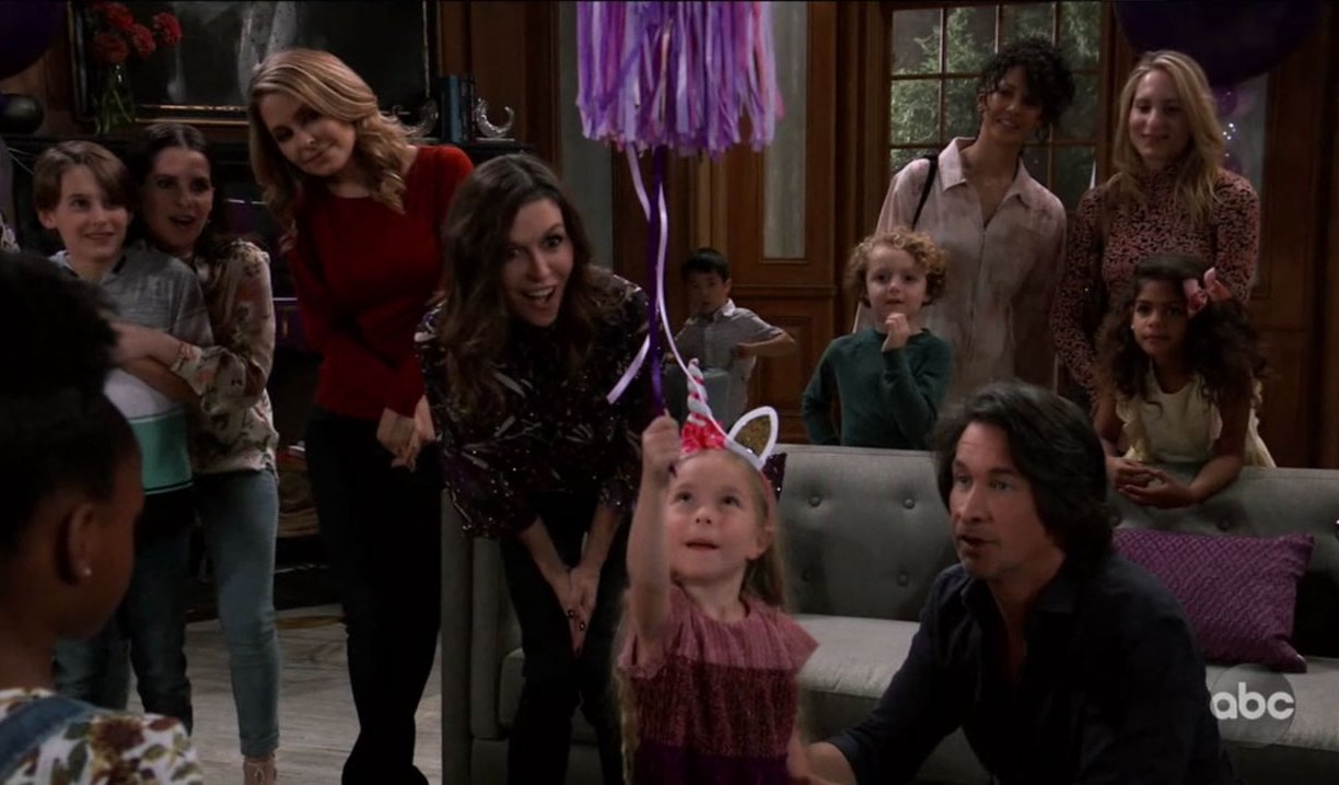 Violet's birthday party on General Hospital
