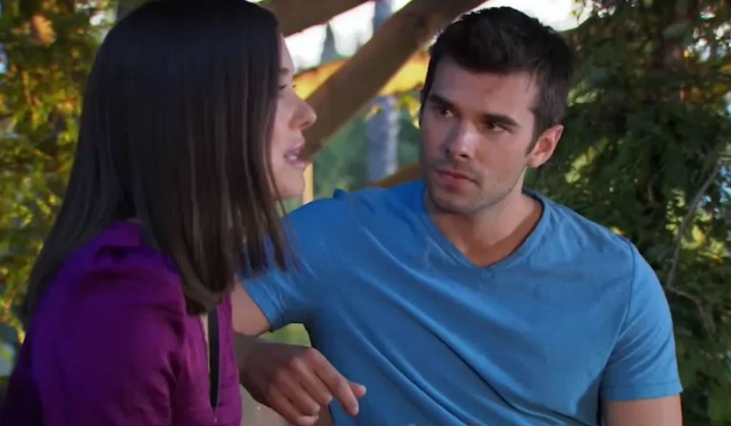 Willow and Chase discuss marriage on General Hospital