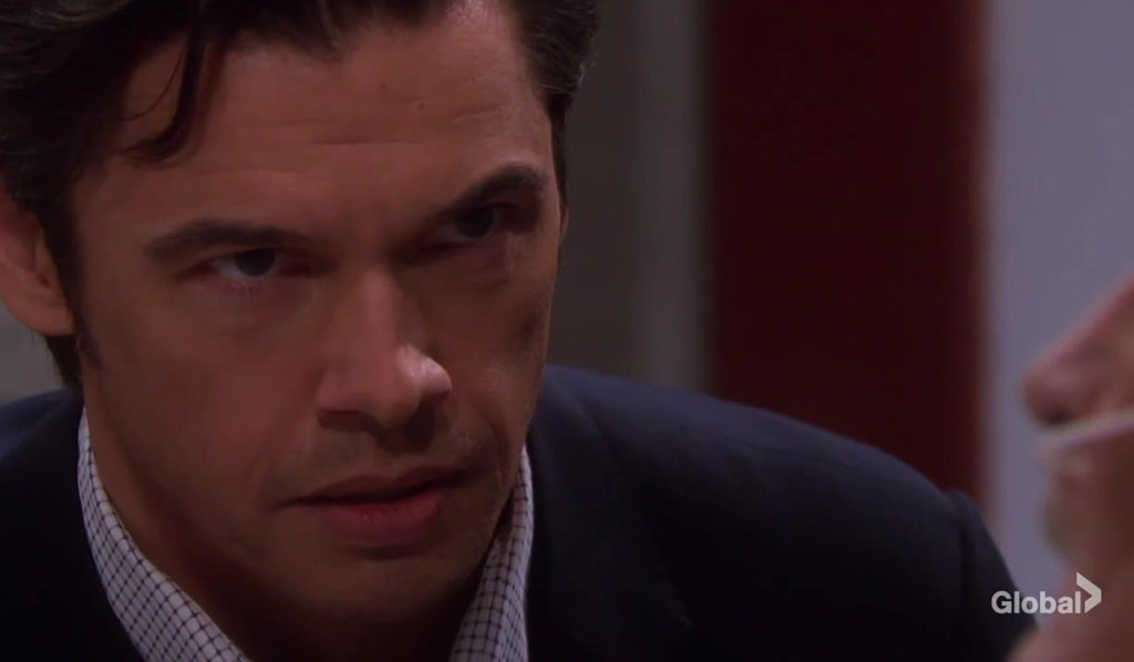 xander angry at stabbing days of our lives