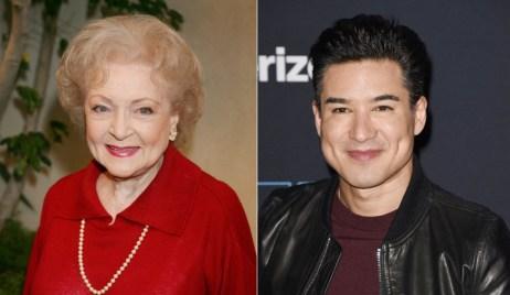 Betty White, Mario Lopez Lifetime Christmas movies Bold and Beautiful