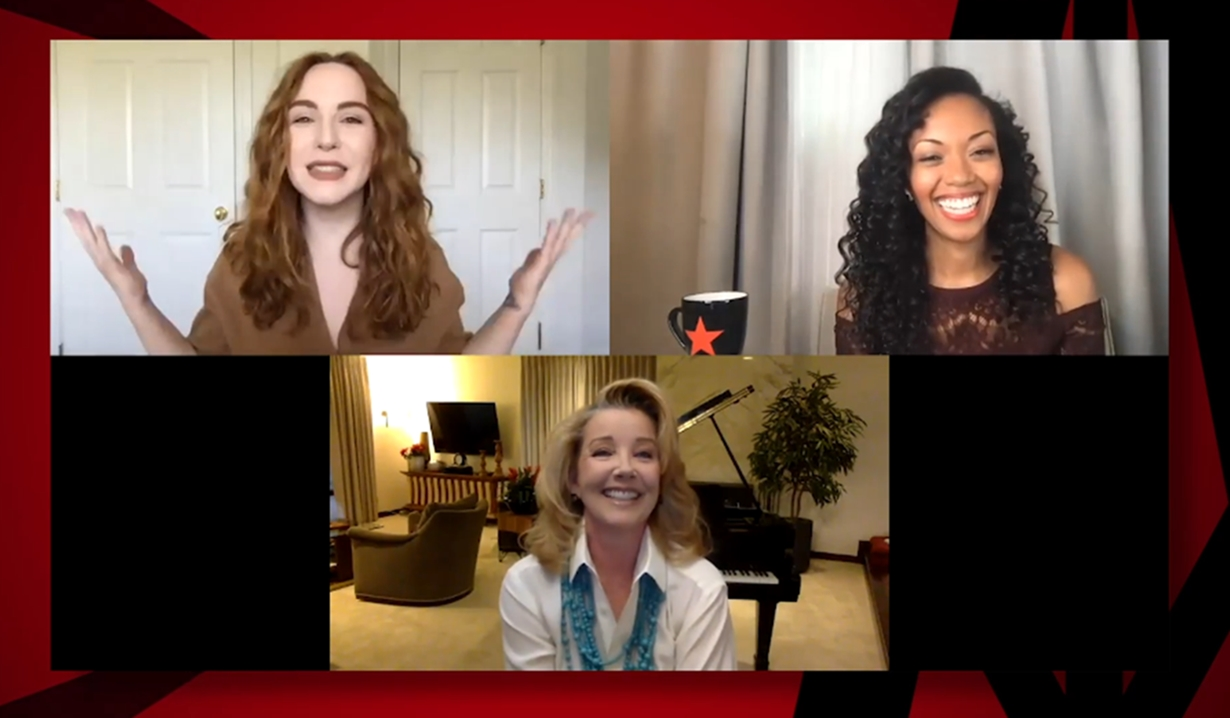 Camryn Grimes, Mishael Morgan, Melody Thomas Scott, GC Buzz Young and Restless