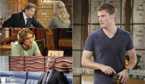 Deacon, Daniel, Tyler, Ronan collage Y&R
