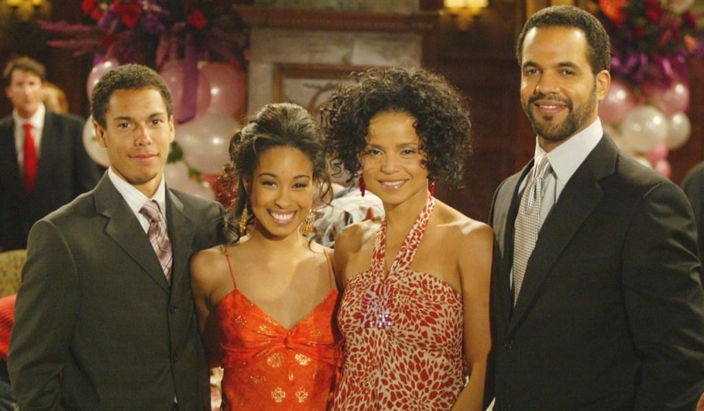Devon, Lily, Drucilla, Neil adoption Y&R