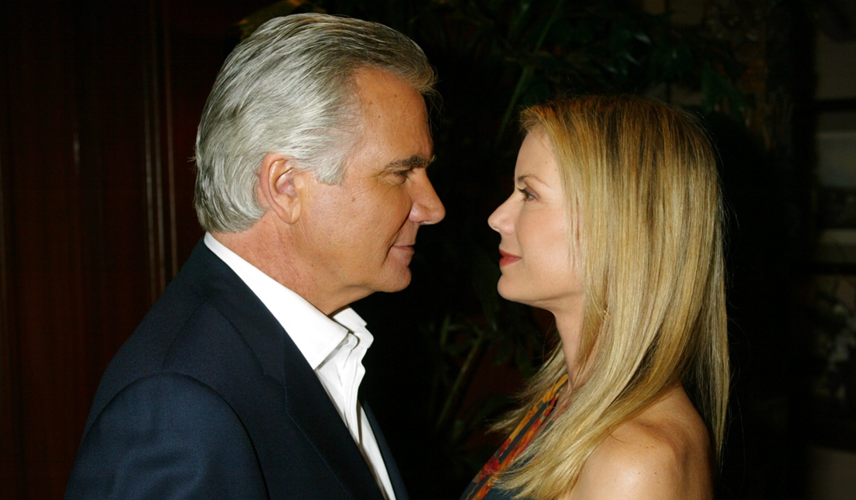 Eric and Brooke gaze at each other Bold and Beautiful