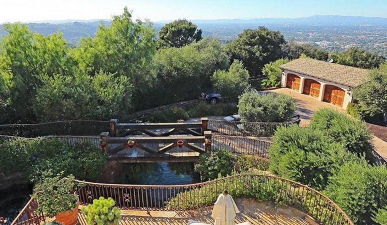 Eva Longoria home aerial view