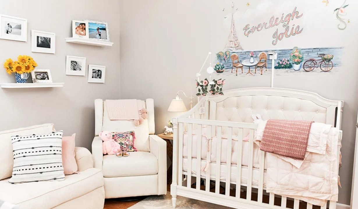 Everleigh nursery Bold and Beautiful, Young and Restless, Cliff Lipson/CBS