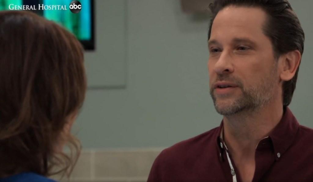 Franco and Liz discuss Nikolas at eneral Hospital