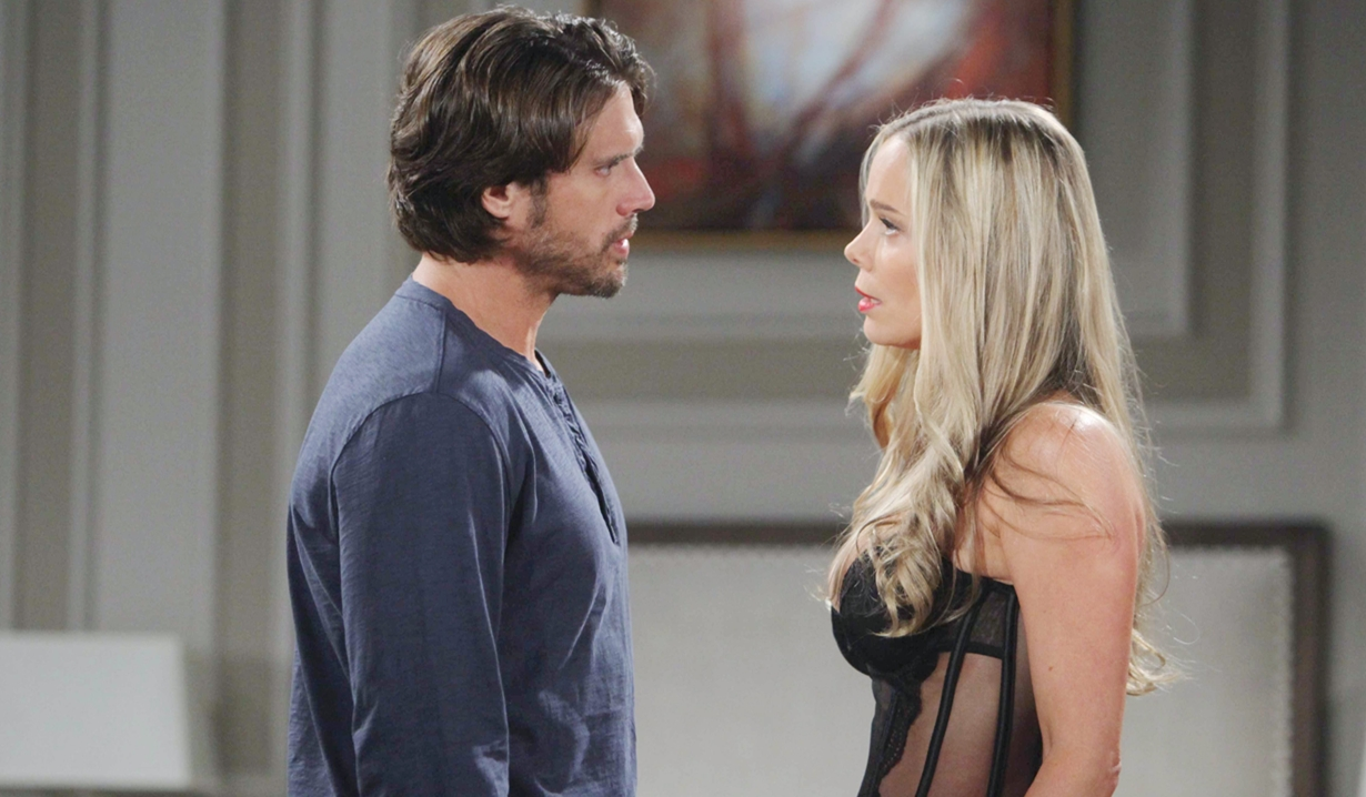 Grace, Nick lingerie hotel Young and Restless