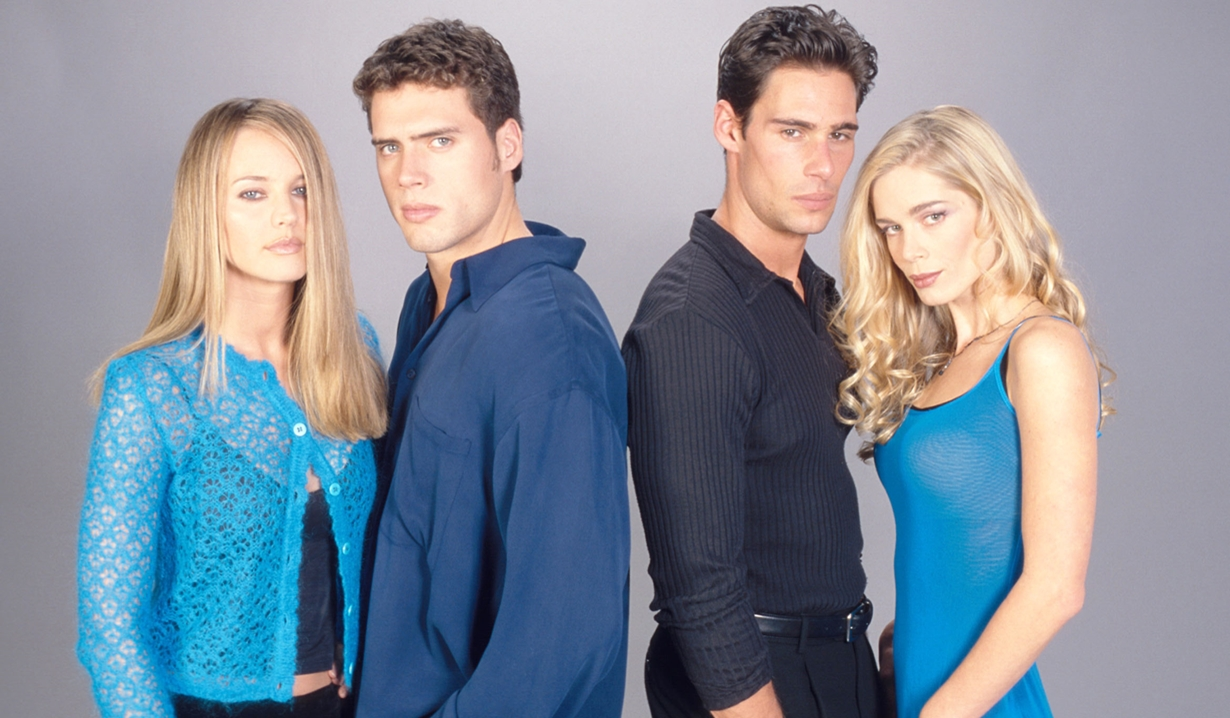 Sharon, Nick, Tony, Grace Young and Restless