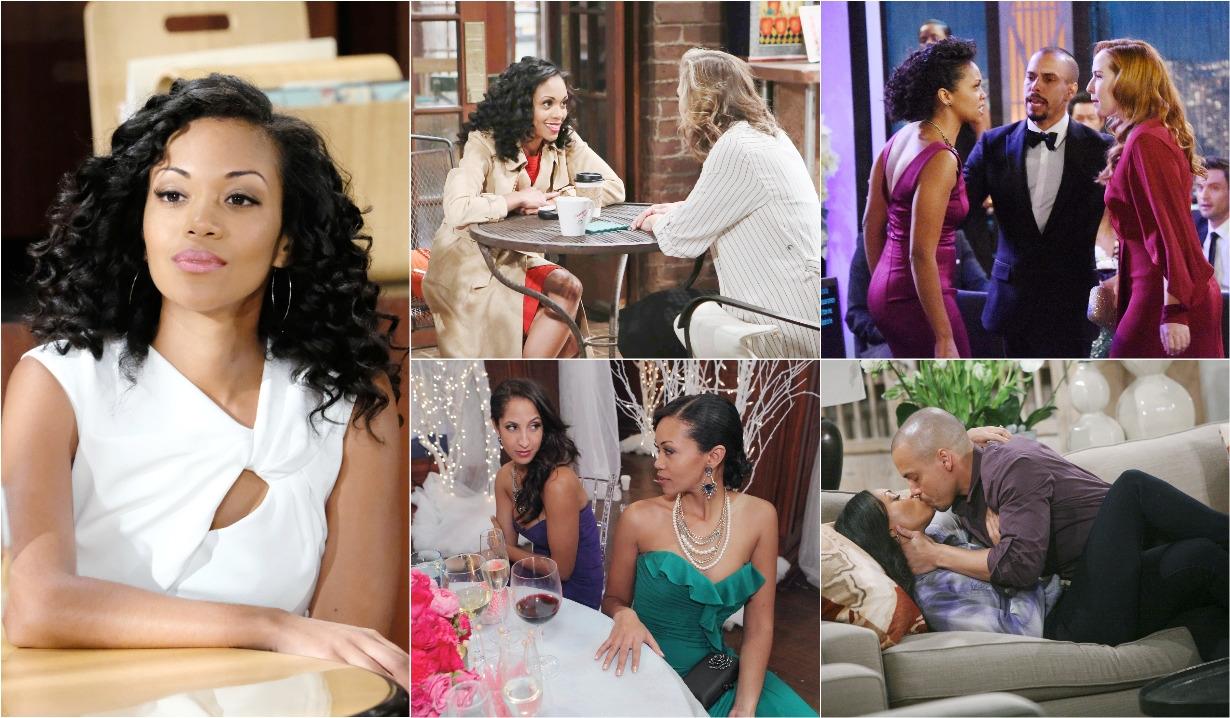 Hilary, Phyllis, Devon, Mariah, Lily, Y&R