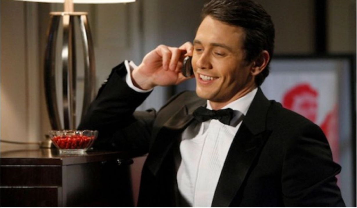 James Franco as Franco on General Hospital