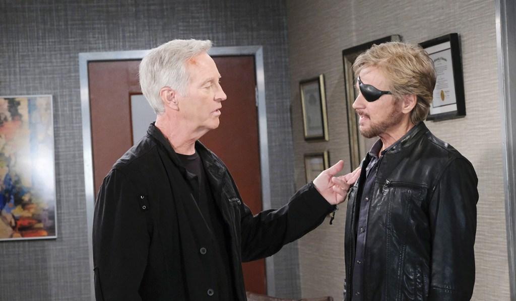 john and steve at hospital DAYS