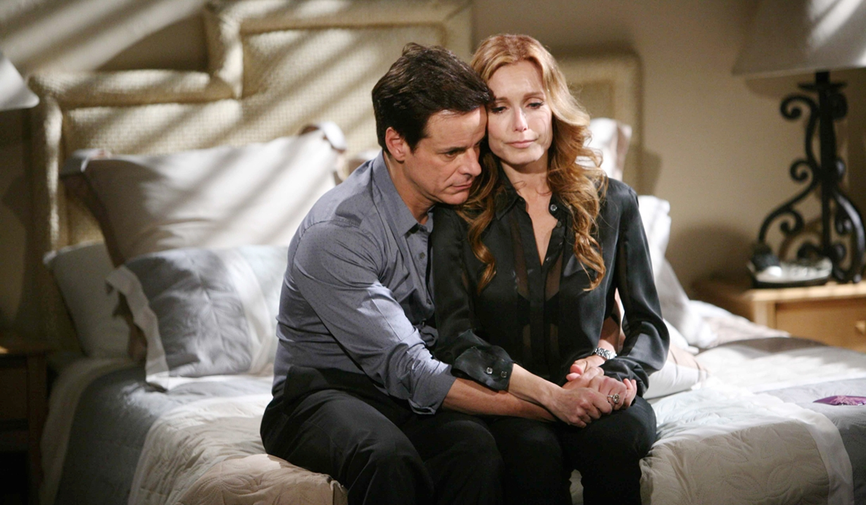 Lauren, Michael fight for marriage Y&R