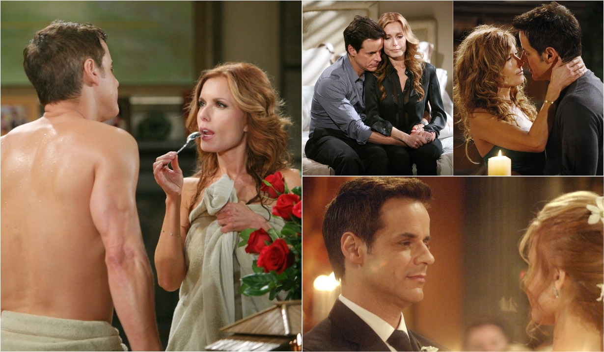 Lauren, Michael love collage Y&R