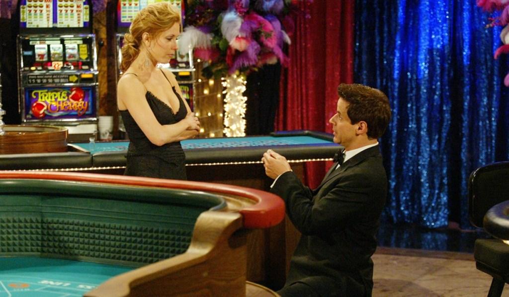 Lauren, Michael proposal Y&R
