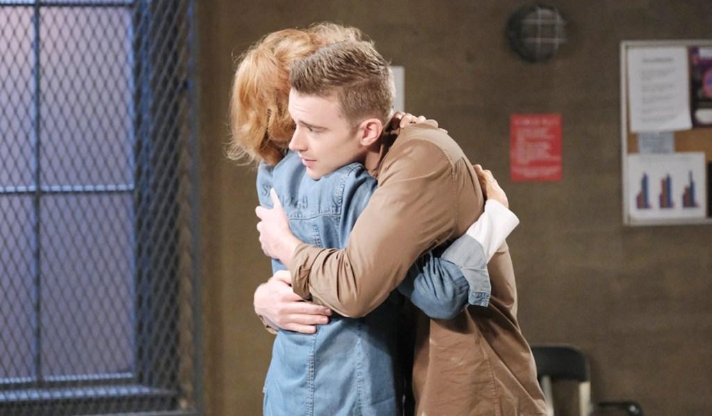 Maggie, Will hug Days