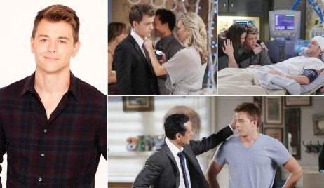 Michael Corinthos III and his family on GH