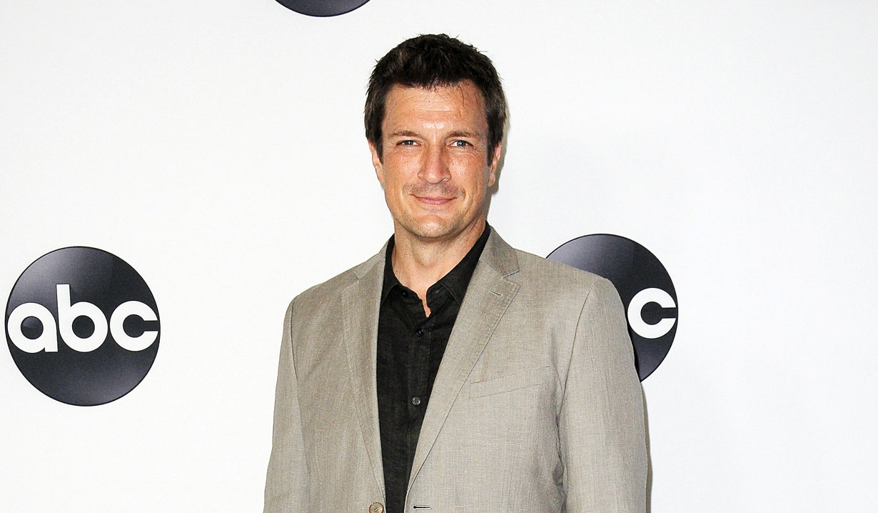 Nathan Fillion of Castle, The Rookie and One Life to Live