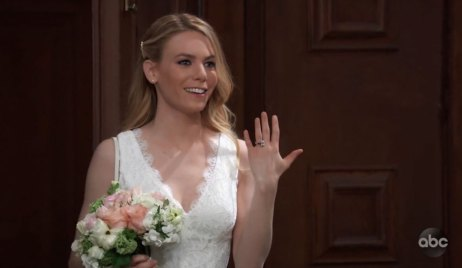 Nelle is Married on GH