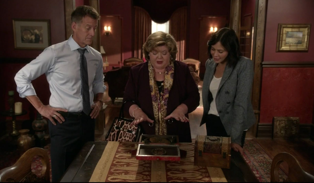 Sam, Cassie and Martha discover a new mystery on The Good Witch