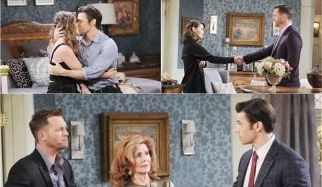Sarah, Brady, Maggie, Xander collage Days