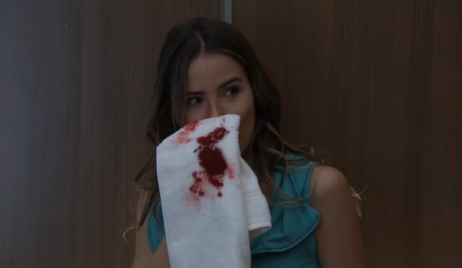 Sasha tells Michael to stop being so nice in an elevator General Hospital