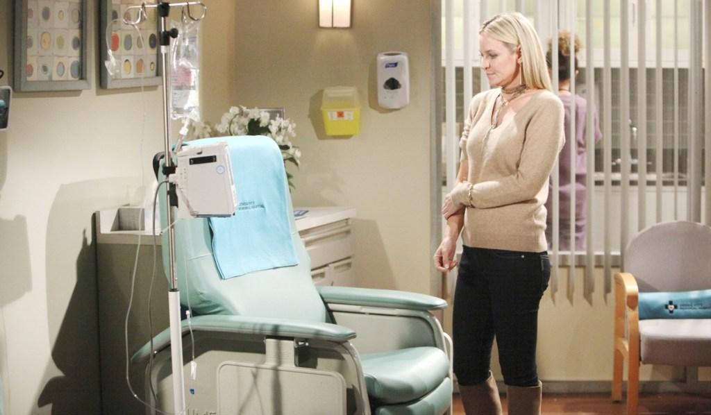 Sharon chemo chair Y&R
