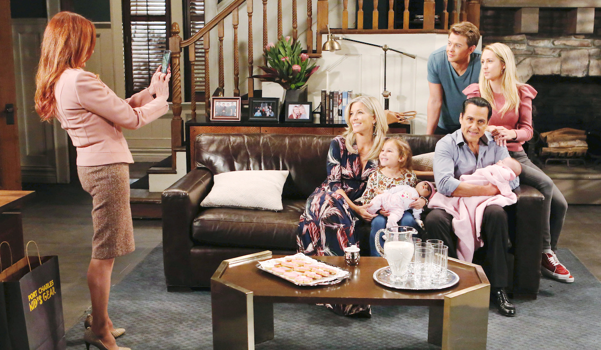 general hospital sonny challenges family photo