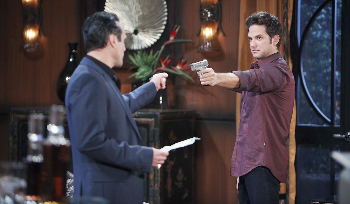 general hospital sonny challenges johnny