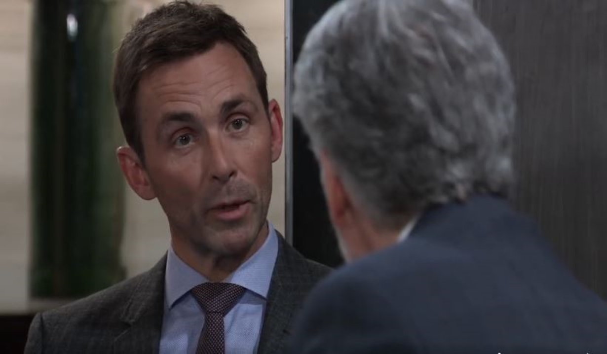 Valentin tells Martin he's getting close at Metro Court General Hospital